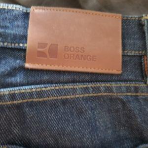 Hugo boss orange jeans size 36